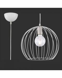 Trio Evian R30031031 hanglamp wit
