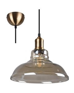 Hanglamp Aldo R30731004 brons 28cm
