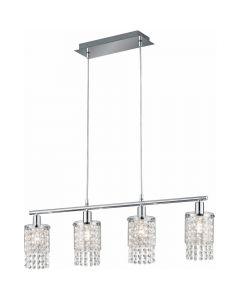 Hanglamp Posh R30764006 kristal 80cm