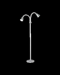 Trio Arras R42712187 vloerlamp zilver