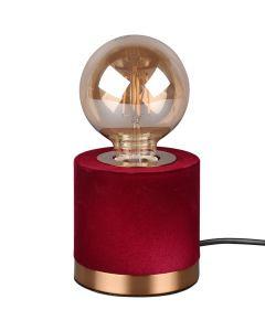 Tafellamp Judy R50691010 rood 11cm