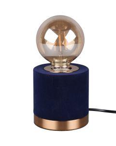 Tafellamp Judy R50691012 blauw 11cm