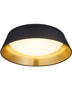 Plafondlamp Ponts zwart 45cm