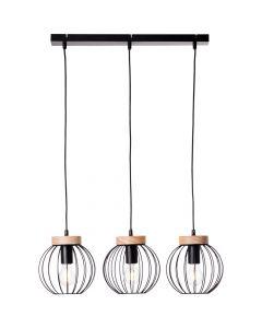 Hanglamp Sorana zwart 66cm