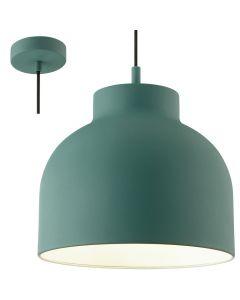Hanglamp Sven turquoise 32cm