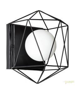 Brilliant Synergy 96847/06 wandlamp zwart