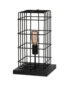 Tafellamp Squalo T2010Z zwart 44cm