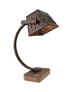 Freelight Scava T5960Z tafellamp zwart