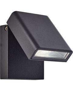 Wandlamp Toya zwart 16cm