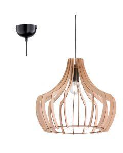 Trio Wood R30253830 hanglamp hout