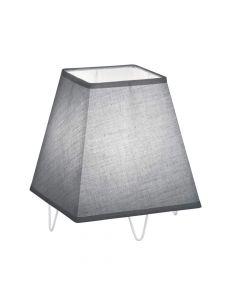 Trio Zing R50281042 tafellamp grijs