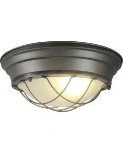 Brilliant Typhoon 94492/84 plafondlamp burning steel