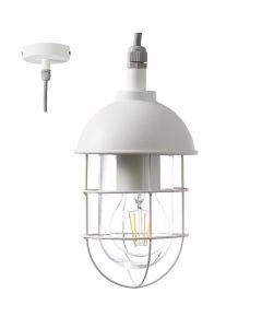 Brilliant Utsira 96349/05 hanglamp wit