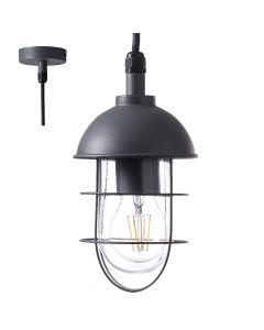 Brilliant Utsira 96349/63 hanglamp antraciet