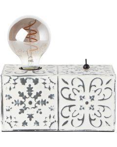 Tafellamp Vagos wit 20cm