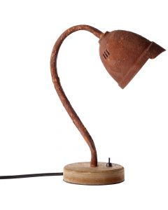 Brilliant Volodia 99030/60 tafellamp roest