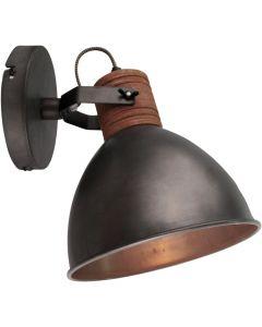 Freelight Veleno W5501Z wandlamp zwart