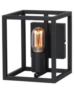 Wandlamp Novanta W9010Z zwart 22cm