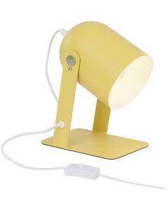 Brilliant Yan 98960/02 tafellamp geel