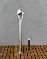 Konstsmide Monza 7919-310 tuinsokkel aluminium