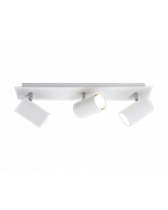 Trio 3 spot plafondlamp serie 8024 wit