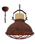 Brilliant Emma 93571/55 hanglamp roest