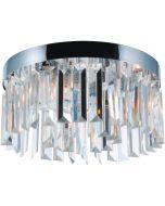 Plafondlamp Lemont chroom 29cm