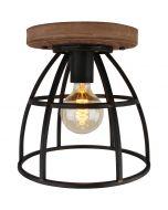 Freelight Birdie PL5934Z plafondlamp zwart