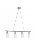 Trio Mars R30014007 hanglamp staal
