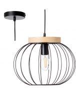Hanglamp Sorana zwart 36cm